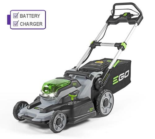 EGO Power + LM2122E-SP 52cm Self-Propelled Cordless Lawnmower Kit