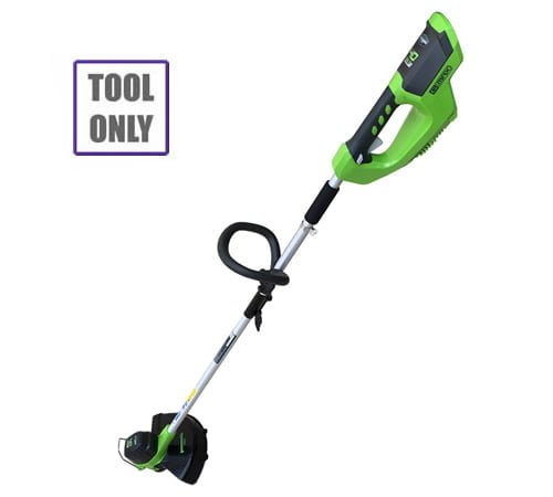 Greenworks G40LT 40v Cordless Grass Trimmer (no battery)