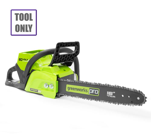 Greenworks GD60CS40 60v Cordless Chainsaw (Tool only)