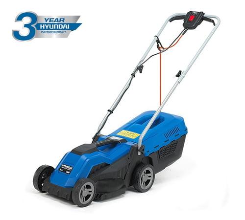 Hyundai HYM3300E Electric Rotary Rear Roller Lawnmower