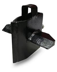 Mitox Multisplit Log Splitter 4-Way Splitting Wedge - Vertical