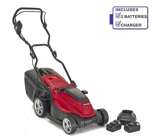 Mountfield MC 380 Li 40V 38cm Cordless Lawn Mower