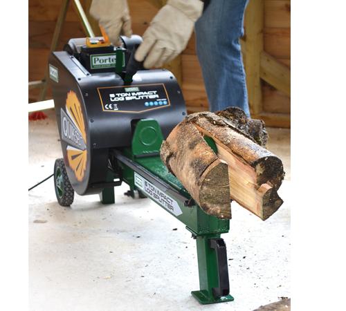 Portek Electric Quiksplit 7 Ton Log Splitter
