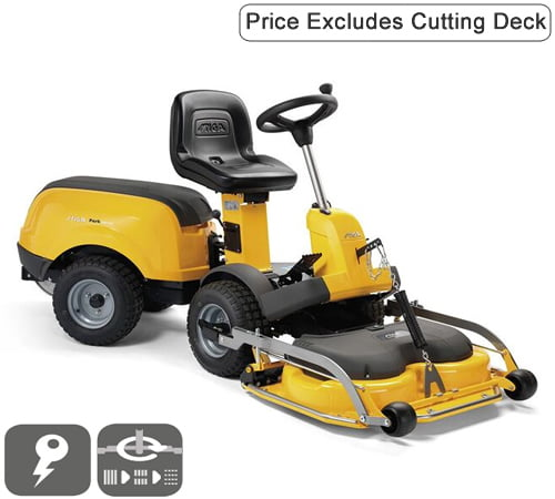 Stiga Park 340 PWX 4WD Out Front Deck Ride On Lawnmower