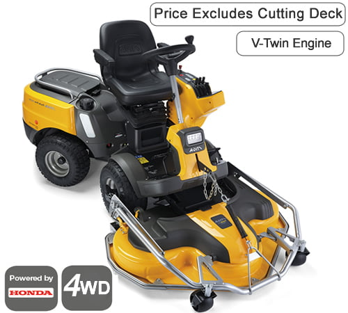 Stiga Park Pro 740 IOX 4WD Out Front Deck Ride On Lawn mower
