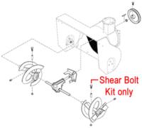 Stiga Snow Flake & Snow Power Shear Bolt Kit 1812-9006-01