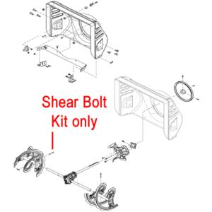 Stiga Snow Fox, 1171 & 1381 Pro HST Shear Bolt Kit 1812-9029-01