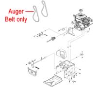 Stiga Snow Fox Drive Belt Auger 1812-2784-01