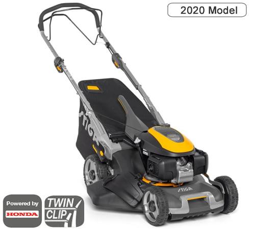 Stiga Twinclip 50 SQ H Self-Propelled Petrol Combi Lawn mower