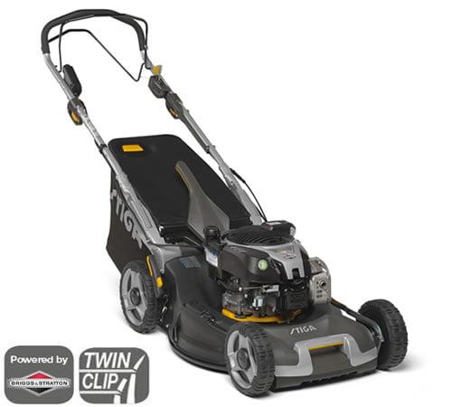 Stiga Twinclip 55 SVEQ B Self-Propelled 4in1 Petrol Lawnmower