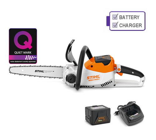 Stihl MSA 140 C-BQ Cordless Chainsaw with Battery and Charger