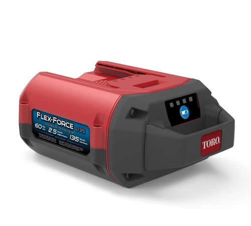 Toro Flex-Force 60v 2.5Ah 135 Wh Lithium-ion Battery