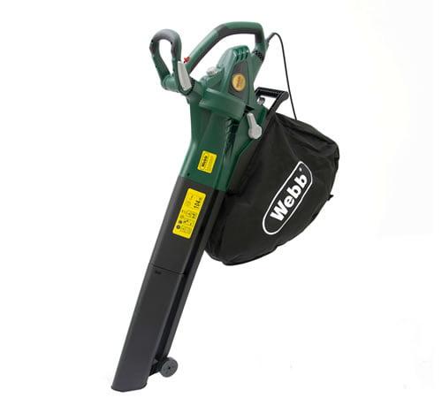 Webb EBV2800 Electric Leaf Blower & Garden Vac