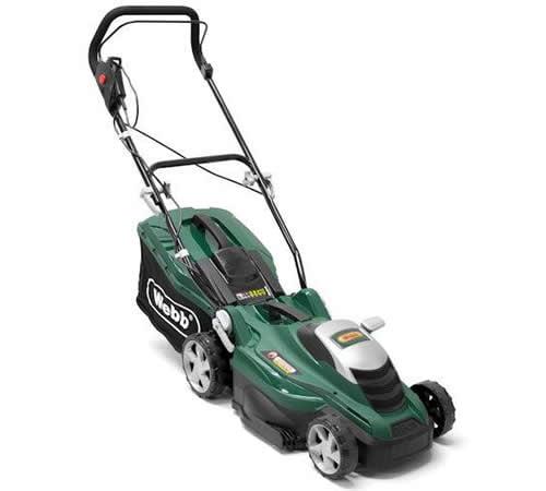 "Webb ER36 1600w 14"" Electric Rotary Lawn mower"
