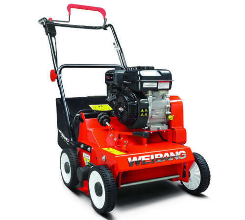 Weibang WB384RB Hand-Propelled Petrol Lawn Scarifier