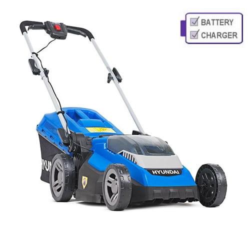 Hyundai HYM40LI380P 40v Cordless Rear Roller Lawn Mower c/w Battery & Charger
