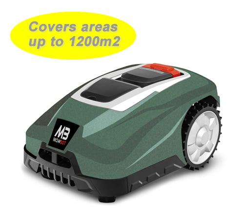 Mowbot 1200 28v 3Ah Robotic Lawnmower Metallic Green