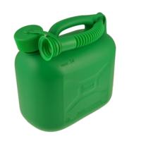Green Plastic Fuel Can - 5 Litre