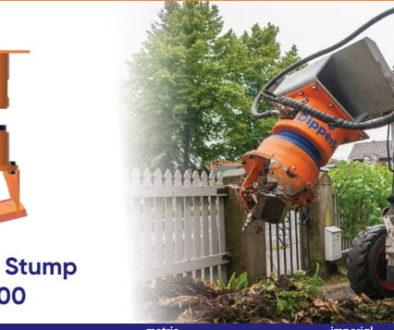 Dipperfox Stump Crusher 600